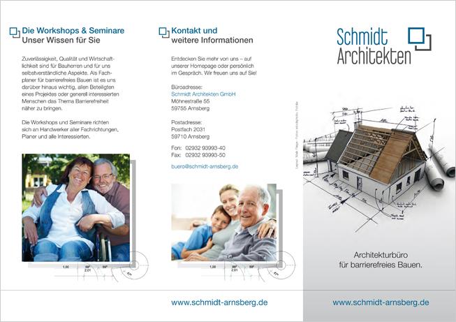 Architekten Schmidt Unternehmensbroschüre