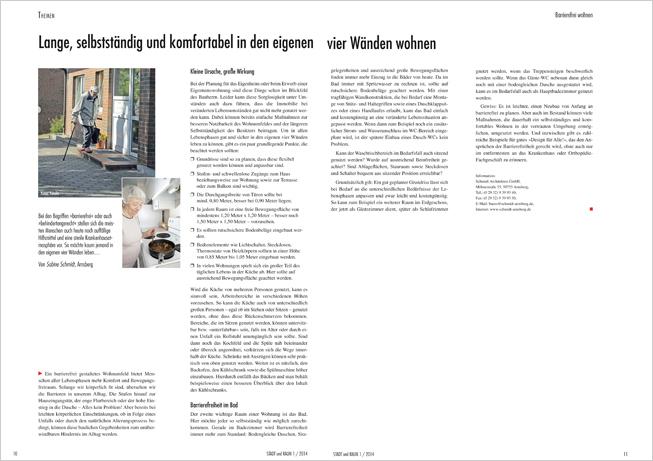 Artikel Magazin Stadt & Raum